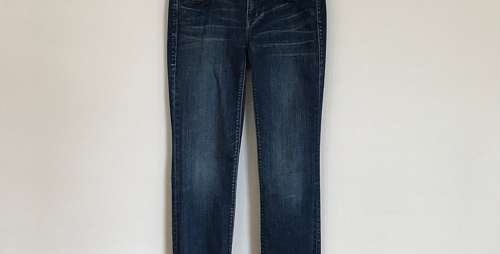 Madewell Rail Straight Leg Denim, Size 0
