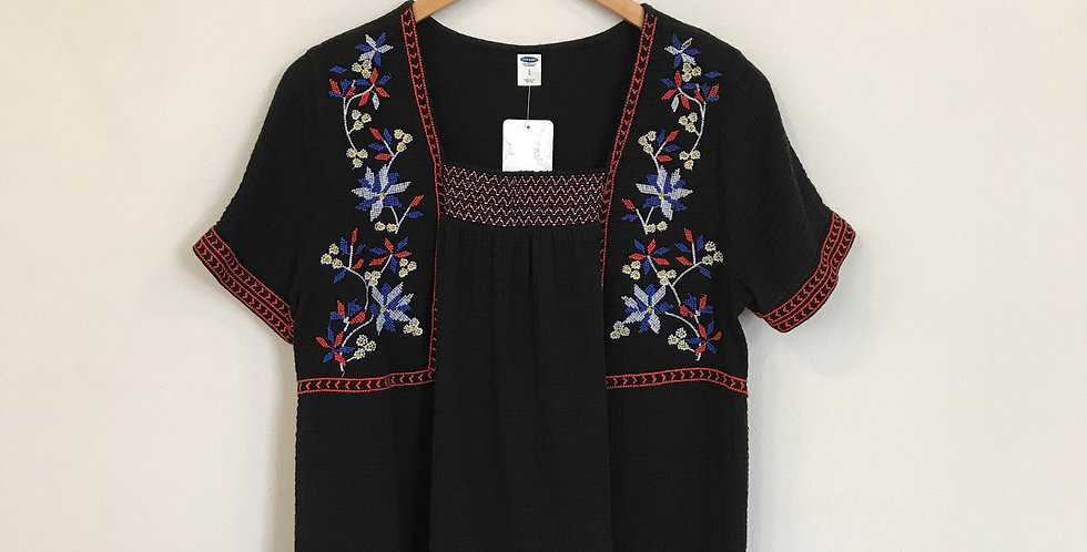 Old Navy Embroidered Top, Size S