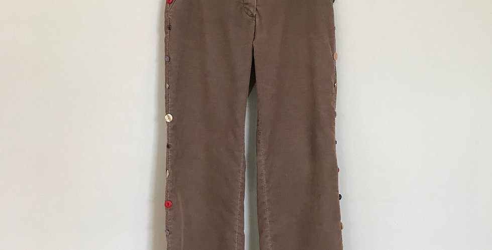 Elevenses Corduroy Trousers, Size 4