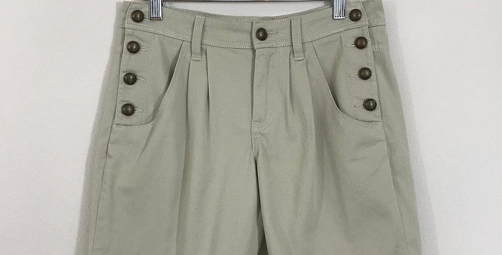 Burberry Brit Cotton Shorts, Size 25