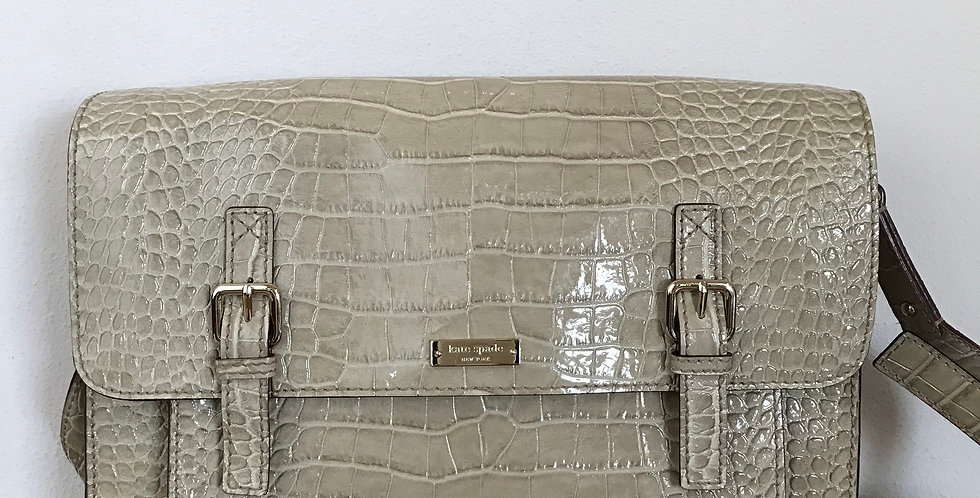 Kate Spade Embossed Messenger Bag