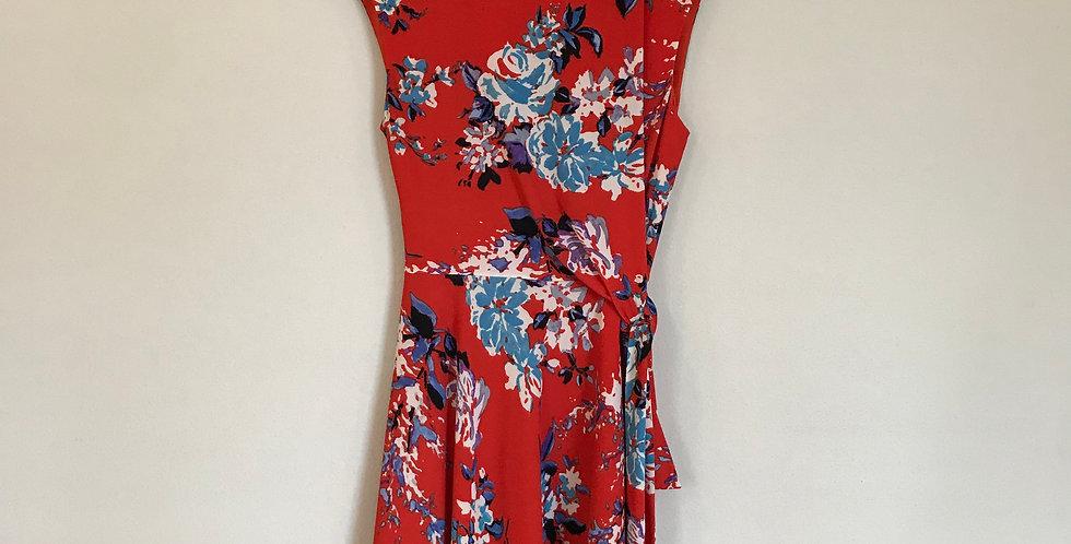 Tahari Floral Dress, Size M