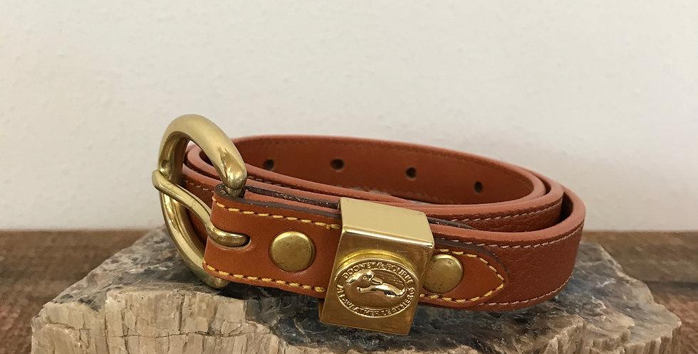 Dooney & Bourke AWL Skinny Belt, Size M