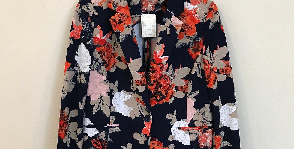 Tahari Floral Jacket, Size L