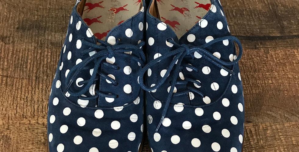 Andrea Moore Polka Dot Oxfords, Size 39