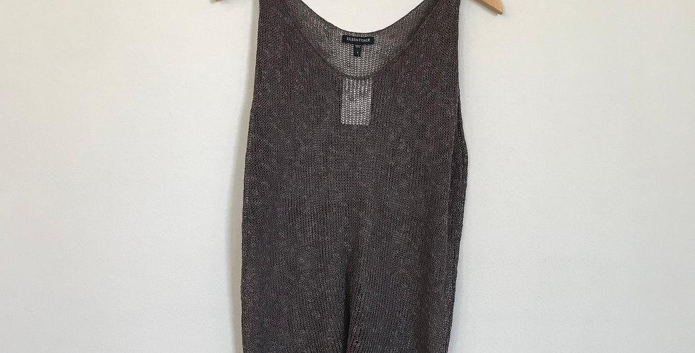 Eileen Fisher Linen Tank Top, Size S