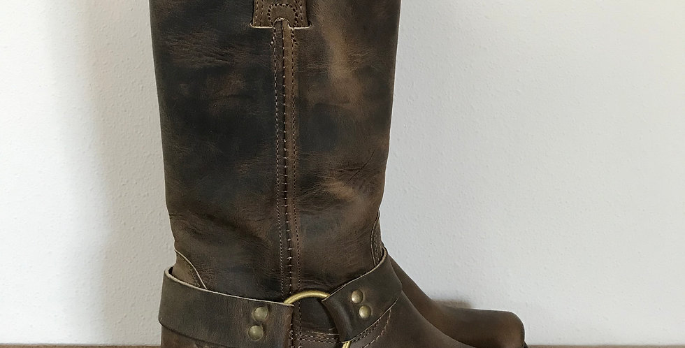 Frye Harness Boots, Size 6.5
