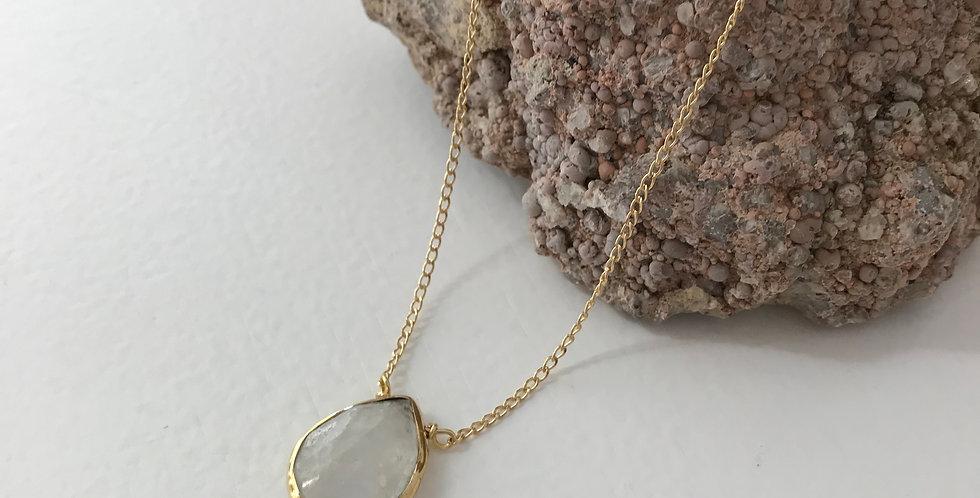 Teardrop Moonstone Necklace