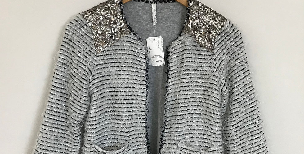 Willow & Clay Eyelash Knit Cardigan, Size XS