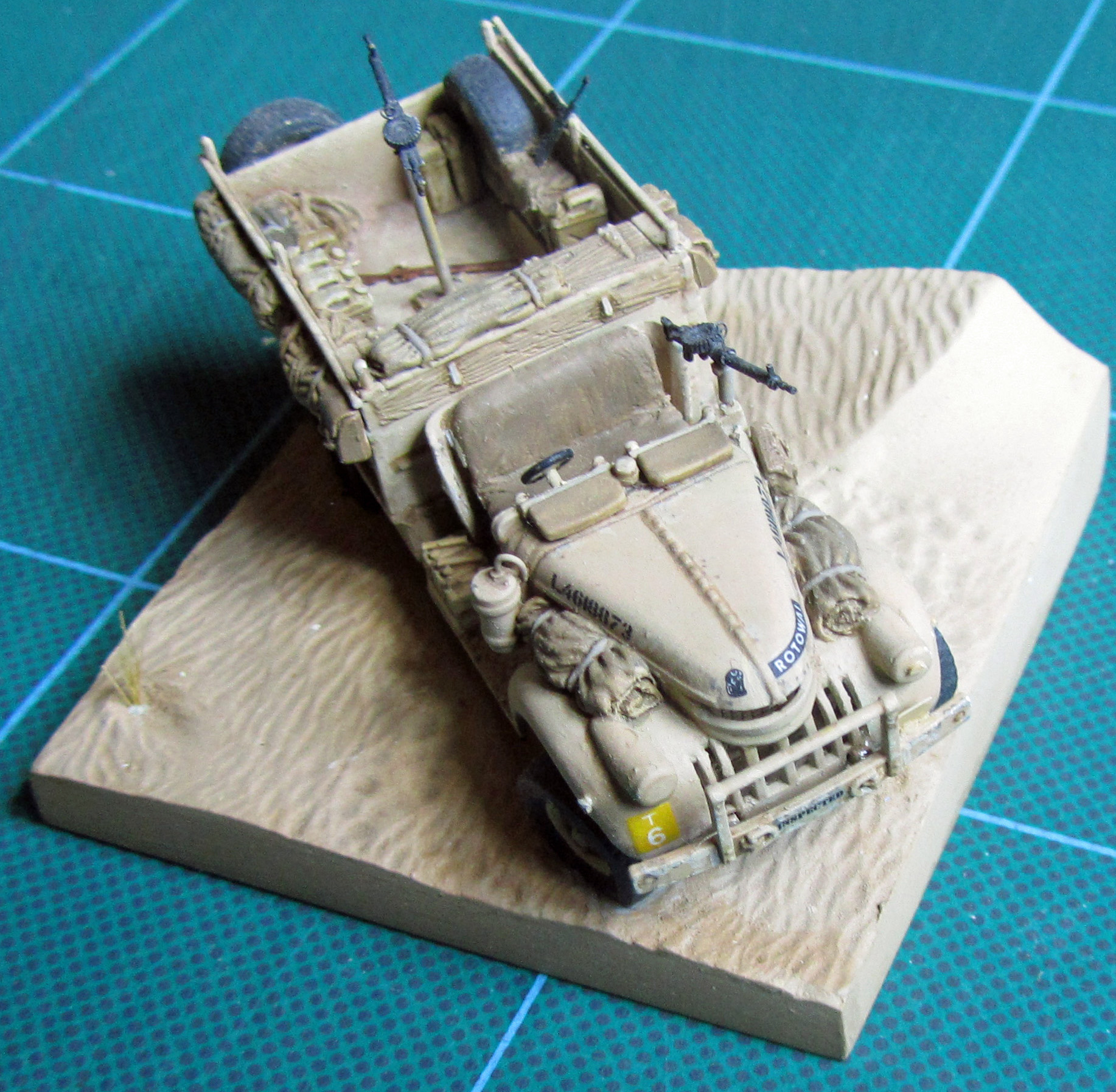 LRDG in 76th scale