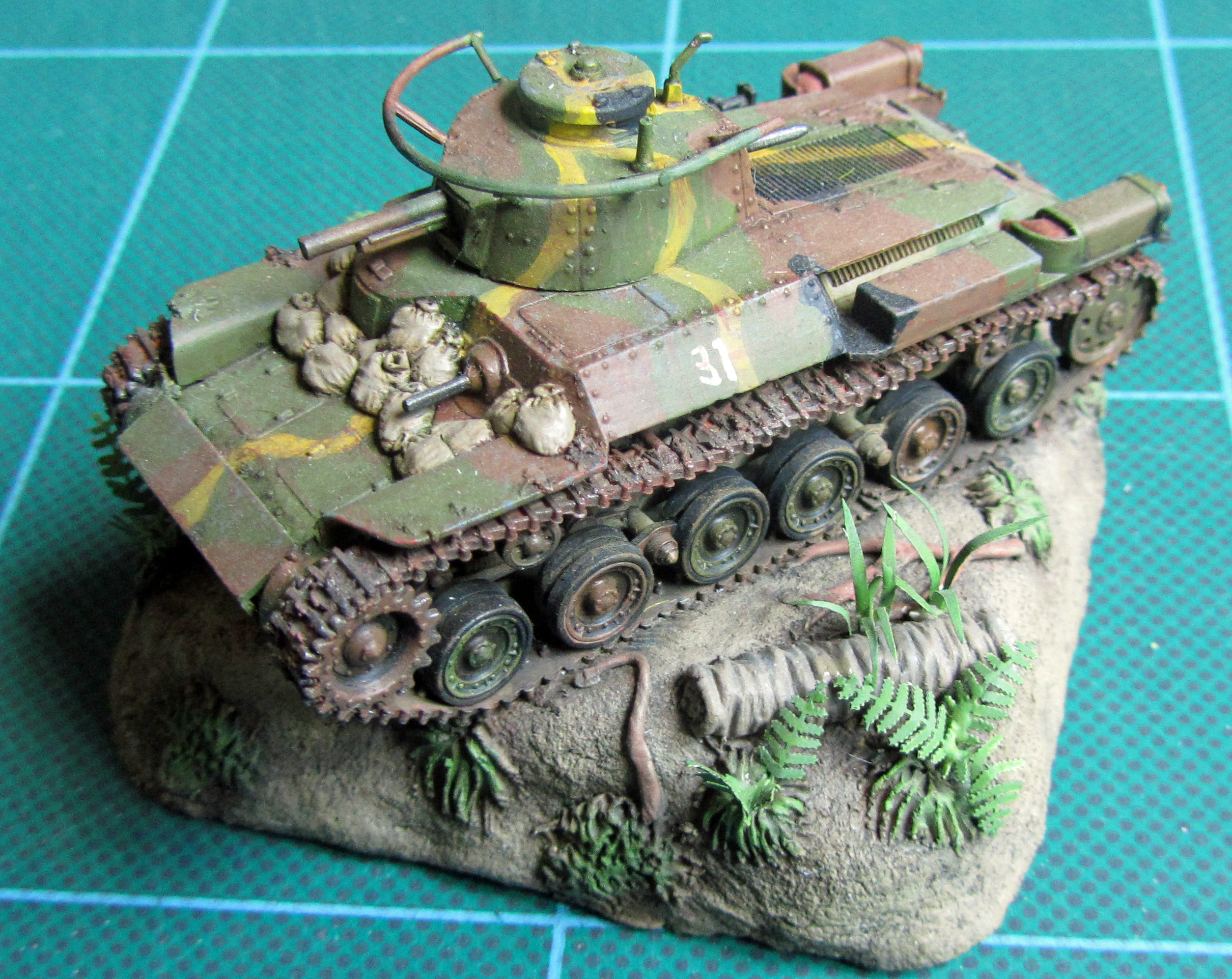 Airfix Japanese tank