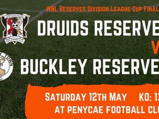 Druids Reserves: Cup Final