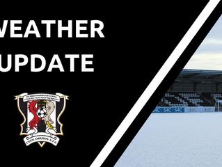 Snow Update - 10/12/17