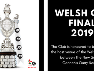 BREAKING NEWS | The Rock to host Welsh Cup Final!