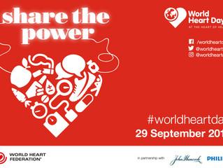 Druids support World Heart Day