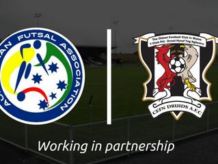 Futsal Partnership Announced