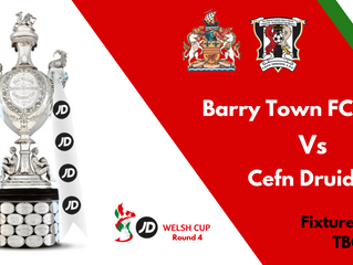 R4 Welsh Cup Draw