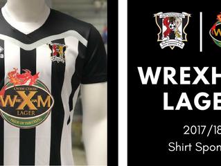 Shirt Sponsor | WREXHAM LAGER