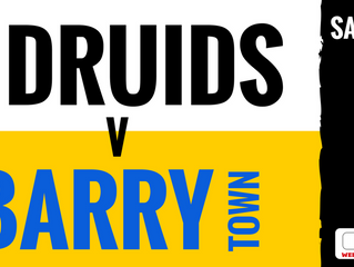 Druids take on Barry at The Rock