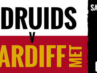 THIS SATURDAY | DRUIDS V MET