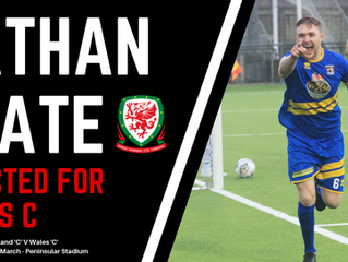 Nathan Peate Selected for Wales