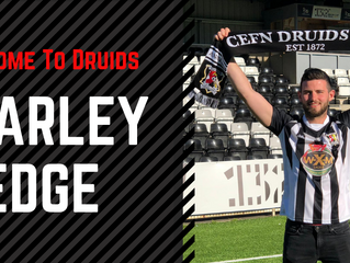 Charley Edge Signs for Druids!