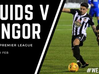 Bangor up next!
