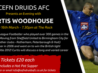 An Evening with Curtis Woodhouse