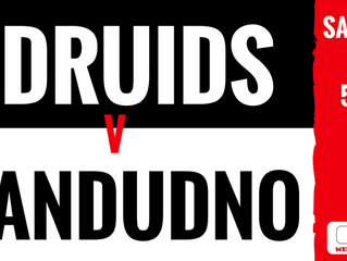 Druids prepare for showdown with Llandudno!