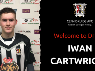 Iwan Cartwright joins the ancients!