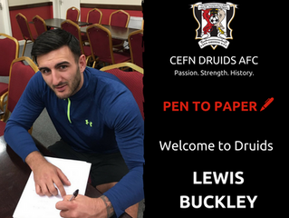 Lewis Buckley Joins The Ancients