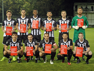 Druids show support for 'Show Racism the Red Card' Campaign