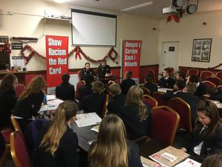 Cefn Druids AFC Educational Club Event