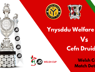 WELSH CUP R3 DRAW!