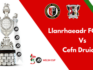 Welsh Cup 3rd Round Draw
