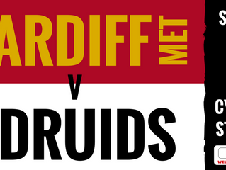 Tough game in prospect as Druids head to South Wales