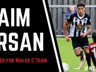 Arsan chosen for Wales!