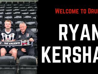 Druids sign Ryan Kershaw