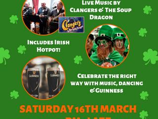 St Patricks Night at Druids!