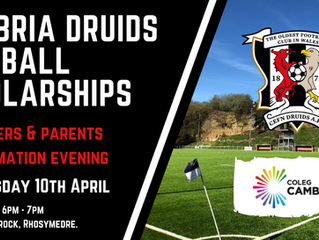 Druids Scholarships Open Evening