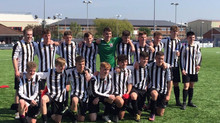 U16s CHAMPIONS OF THE FAW ACADEMY NORTHERN SECTION