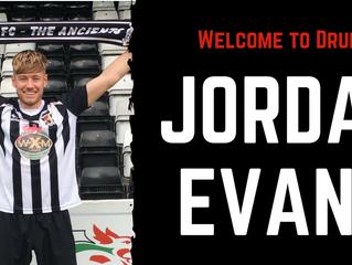 Druids sign Jordan Evans