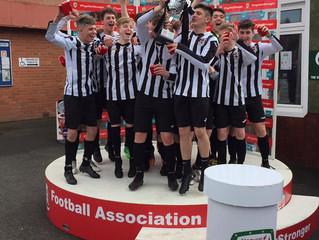 Druids U16s Welsh Champions