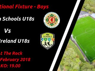 Wales U18s V Rep. Ireland U18s