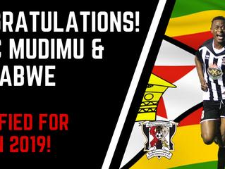 Mudimu & Zimbabwe qualify for AFCON 2019!