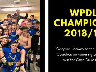 WPDL - CHAMPIONS!