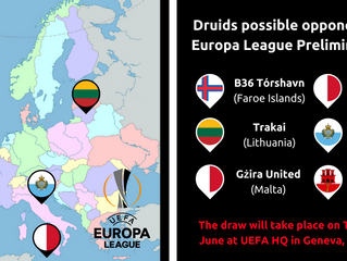 Possible Europa League Opponents!