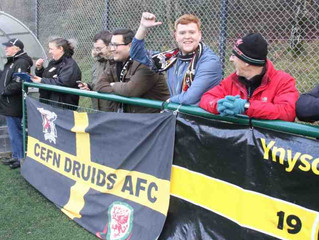 Druids Progress in the Welsh Cup!