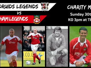 Charity Match Players Announced