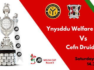 WELSH CUP WEEKEND!